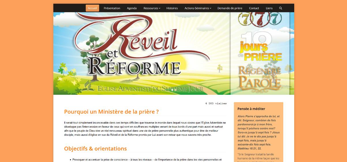 Ministère de la prière